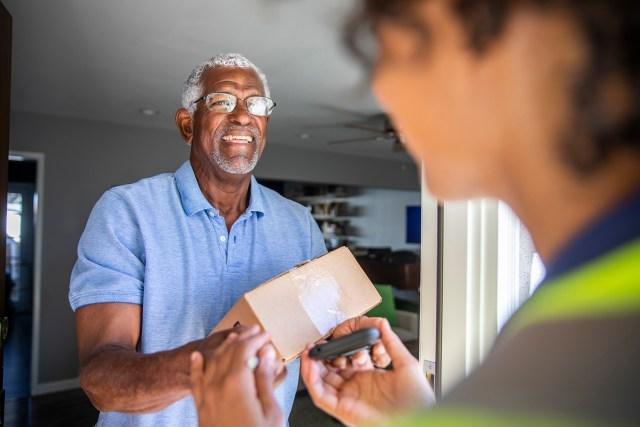 Veteran Receiving Package