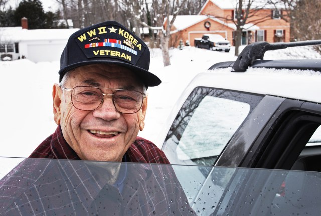 Veteran and His Donated Vehicle