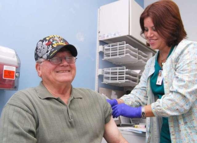 Free Flu Shots for Veterans
