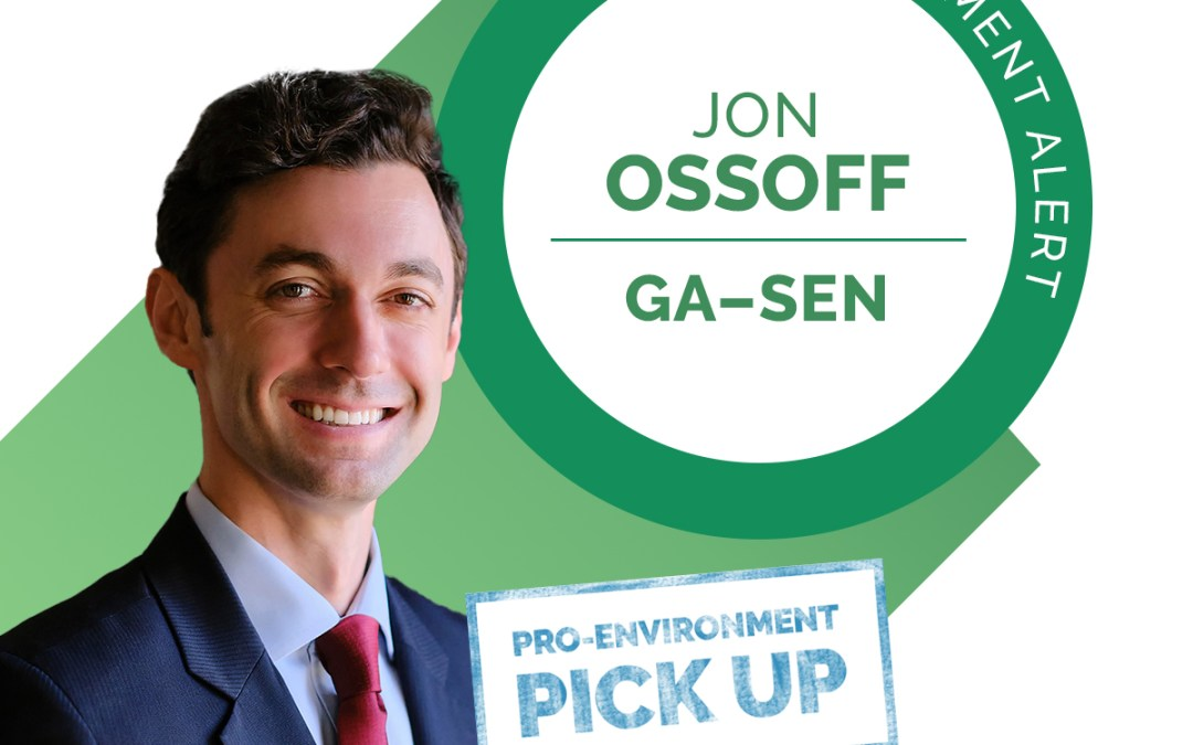 LCV Congratulates Jon Ossoff on Senate Election, Officially Flipping the Chamber to Pro-Environment Majority