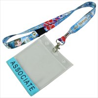 plastic badge holder lanyard | New design fashionable diy ...