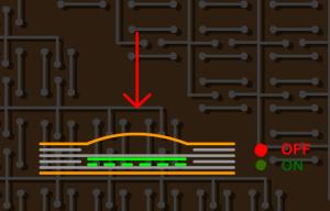 2.2. Yuvarlak Kabartmalı Membrane Switch