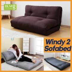 Sofa Furniture Singapore Full Leather Bed Qoo10 Last 1pcs Windy Ii Sofabed Chair