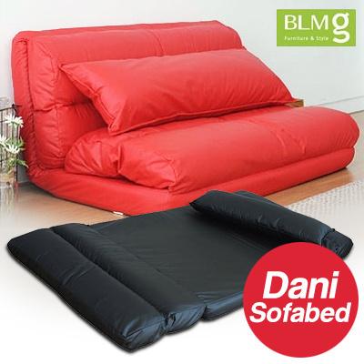 where to get sofa bed in singapore dark grey l shape qoo10 blmg sg dani sofabed furniture chair home cheap f deco