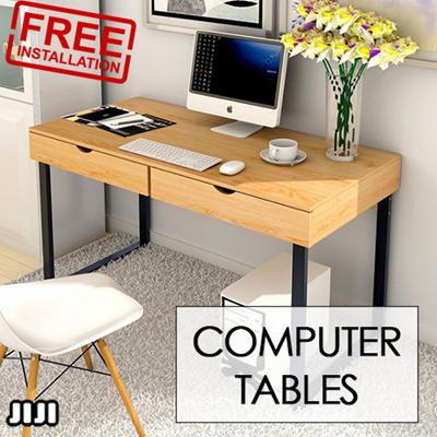Foxhunter Pc Computer Desk Corner Wooden Desktop Table Office