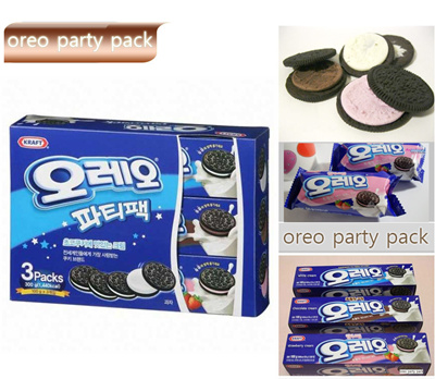 Qoo10 OREO 3 PACKS Sandwich Cookies Party Pack 300 g