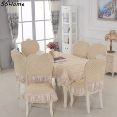 Chair Cover Qoo10 Pride Power European Style Tablecloth Household Dining Cushion Pad 130 Furniture Deco