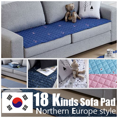 sofa covers low price slipcovered sofas qoo10 furniture deco cover protector seat pad mat modern style carpet cotton