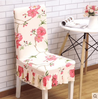 chair cover qoo10 what is a snuggler home stretch dining table simple modern stool hotel furniture deco