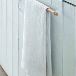 Kitchen Towel Hanger Baby Pink Appliances Qoo10 Tosca Wide White Door Hook Holder Washable Room