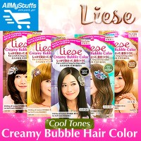 Qoo10 - LieseCreamy Bubble Hair Color  COOL TONES ...