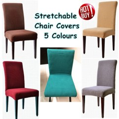 Chair Cover Qoo10 Stressless Office Local Seller Soft And Stretchable 5 Colours Available Furniture Deco