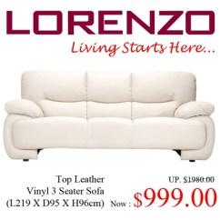 Dwr Sleeper Sofa High End Leather Sofas Uk Lorenzo 3 2 1 Home Furniture On Carou ...
