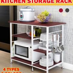 Kitchen Shelf Grey Table Qoo10 Rack Dining Ready Stock Storage Organizer Holder Adjustable Shelving Cabinet