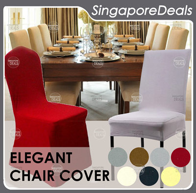 chair cover qoo10 leather wheeled premium replacement office dining makeover