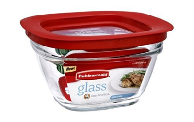 rubbermaid kitchen storage containers window ideas treatments qoo10 food container freezer glass 4 cup square