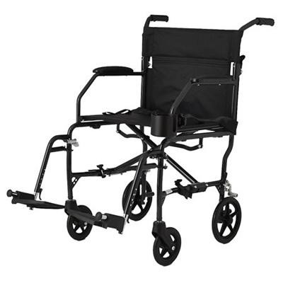 walgreens transport chair black office chairs with arms qoo10 medline freedom ultra lightweight 19 x 16 inch