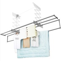 Qoo10 - Wellex Ceiling Mounted Folding Laundry Drying Rack ...