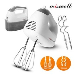 Kitchen Whisk Electric Metal Shelves Ikea Wiswell Hand Mixer Wsh 429 Home Baking Utensils Food Egg Beater 220v Qoo10 Whi Small Appliances