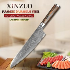 Best Damascus Kitchen Knives Faucets Review Qoo10 Xinzuo 8 Chef High Quality Fashion Knifep Perfume Luxury