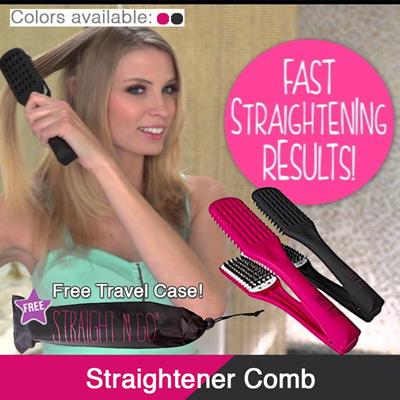 qoo10 hair straightening brush straightener b straight n go magic hai hair care