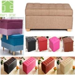 Storage Box Chair Philippines Cheap Cushions Outdoor Qoo10 Stool Furniture Deco