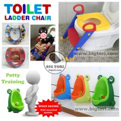 Frog Potty Chair Butcher Block Table And Set Toilet Ladder Soft Seats Urinal Training