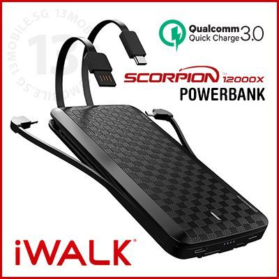 Iwalk Scorpion 12000 Instructions