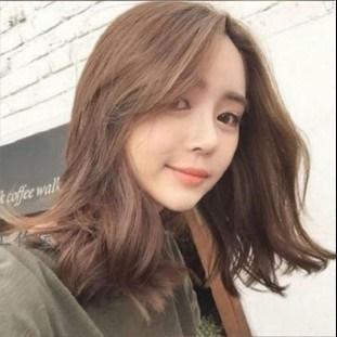 flaxen chestnut brown hair