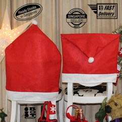 Chair Cover Christmas Decorations High Back Lounge Buy 6pc Santa Hat Covers Singapore Seller Gifts Home Party Decor