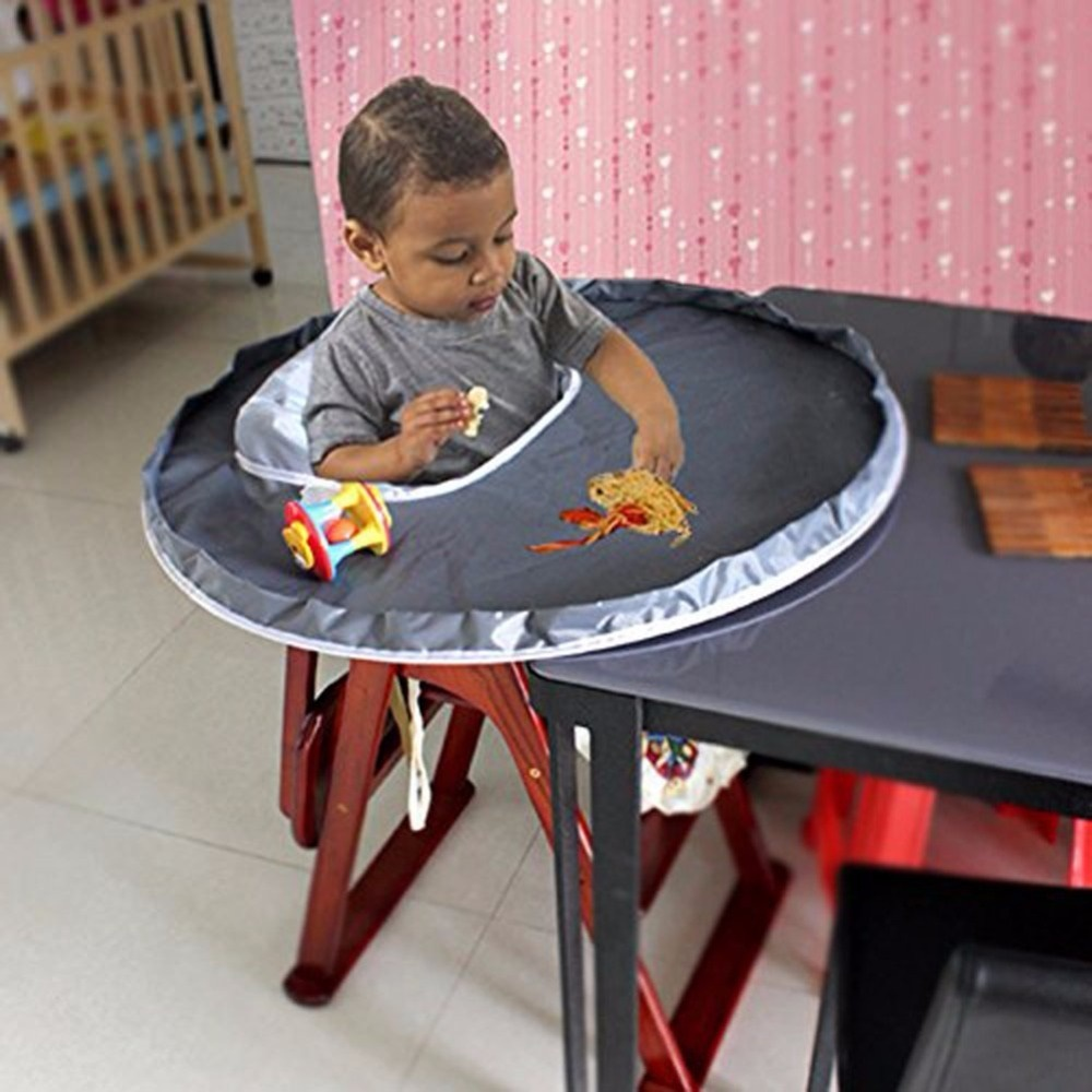Restaurant High Chair Cover Gray Restaurant And Home Baby Feeding Saucer High Chair Cover Highchair Cover Germ Prevents Food An
