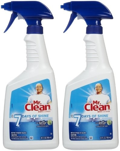 Qoo10  2 Pk Mr Clean Bath Cleaner with Febreze Freshness Meadows  Rain Sce  Home Electronics