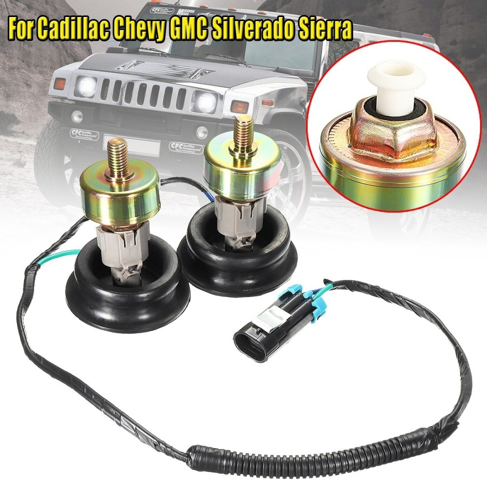 medium resolution of fit to viewer prev next knock sensors with wiring harness connectors for cadillac chevy