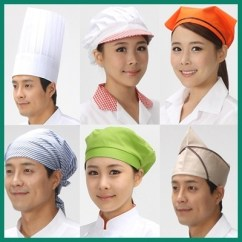 Kitchen Hats Small Outdoor Kitchens Qoo10 Adult Cooking One Size Elastic White Chef Hat Baker Fit To Viewer