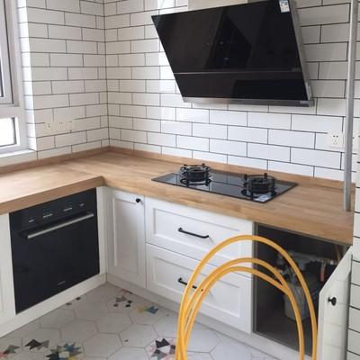custom kitchen islands spoon rest 厨房木头灶台板实木橱柜台面板中岛台面板实木台面板木质台面 淘宝网 定制