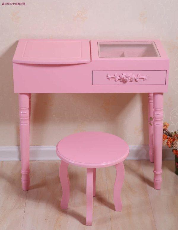 Minimalist Dressing Table Makeup Organizer Bedroom Dresser