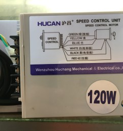 hucan huchang ac single phase motor governor type a wiring us 52 ac220v120w motor [ 4032 x 3024 Pixel ]