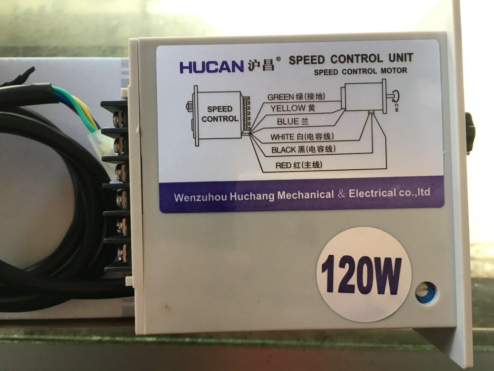 medium resolution of hucan huchang ac single phase motor governor type a wiring us 52 ac220v120w motor