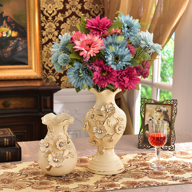 living room flower vases arranging furniture with fireplace category ceramics productname european ceramic vase decoration dried tv cabinet arrangement home accessories