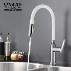 Kitchen Sink White Build Your Own 全铜抽拉厨房水龙头冷热水简约白色洗菜盘水槽伸缩万向龙头单孔 淘宝网 O