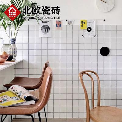 gray subway tile kitchen hape play 北欧风格黑白灰瓷砖厨房墙砖卫生间地砖全瓷格子地铁砖哑光小白砖 淘宝网 o