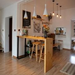High Kitchen Table Sets Moen Hands Free Faucet 实木家庭吧台餐桌客厅隔断家用小吧台桌厨房简约现代酒吧台高脚桌 淘宝网 O