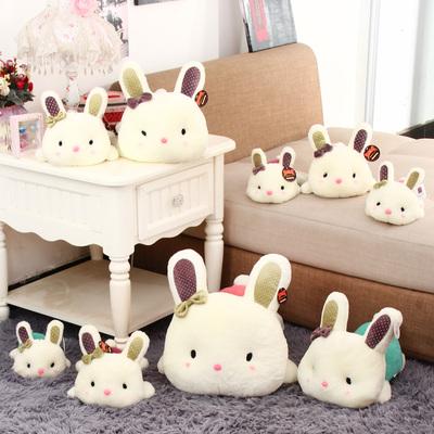 可愛寶寶趴趴兔毛絨玩具玩偶咪咪兔公仔小白兔子娃娃生日禮物批發-淘寶網