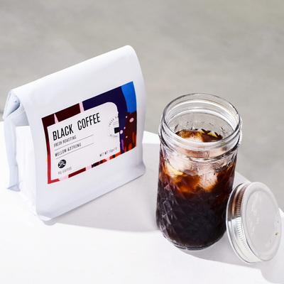 美式袋泡黑咖啡包 冷萃咖啡拿鐵冷泡牛奶提神咖啡粉10袋 送網紅杯-淘寶網