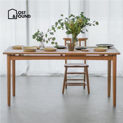 失物招領餐桌現代簡約實木小戶型家用飯桌長方形北歐浮游桌餐桌椅-淘寶網