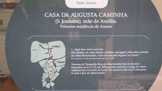 Rota do Crime do Padre Amaro, em Leiria