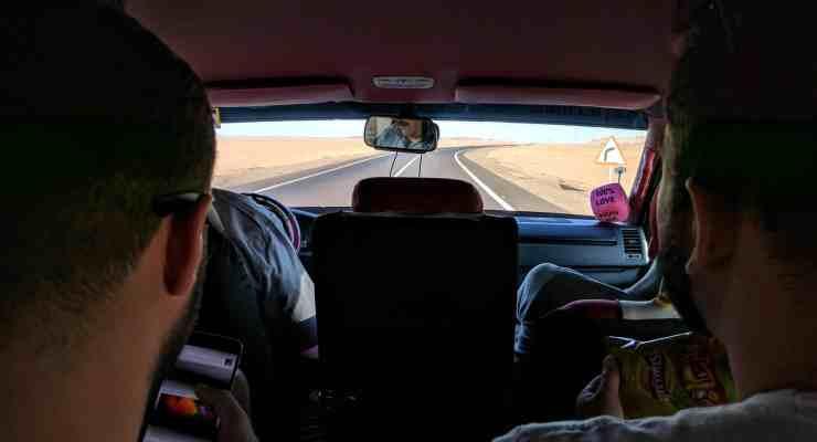 Minhas experiências com as estradas do Egito