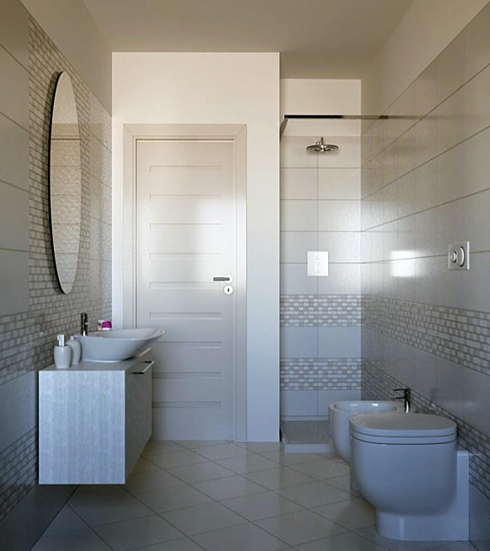 Il bagno maggiore con piastrelle MINIMAL di Marazzi