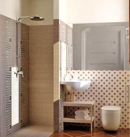 Bagno in camera con NEW ART MOSAIC di Ceramiche Ricchetti
