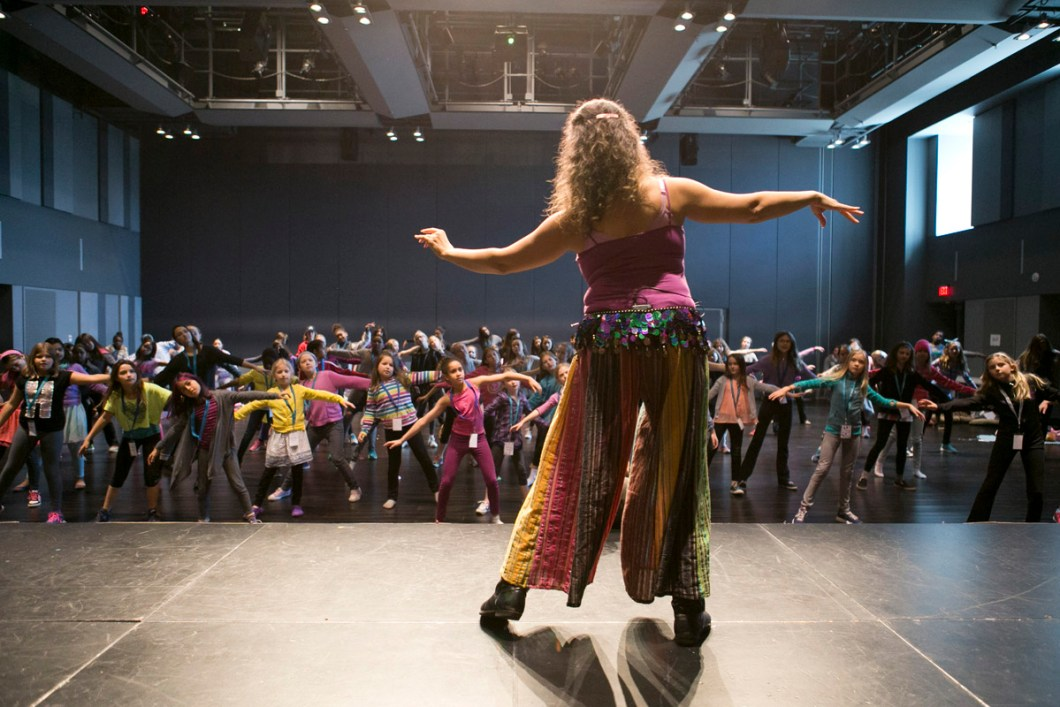 Bellydancing with Roula Said, G Day Toronto, 2015